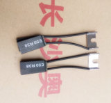 Escova de carbono E50R38 do Electrographite da alta qualidade