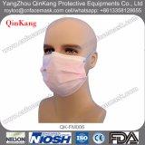 Máscara protetora 3ply cirúrgica não tecida descartável