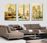 Zoll-wiederholen verschiedene Größen-Bilder den Blick der Öl-und Acryl-Malleinwand-Drucke