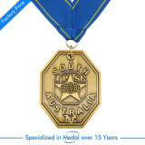 Медаль футбола эмали металла цены по прейскуранту завода-изготовителя подгонянное Китаем
