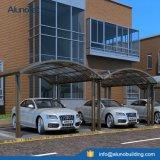 UV durables protègent la couverture en aluminium de toit de polycarbonate de parking