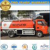 Camión de tanque de combustible de 5000 litros Camión de dispensador de combustible de 5 toneladas