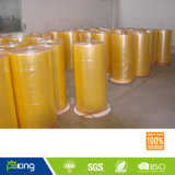 1280mm * 4000m Yellow Color BOPP Adhésif Jumbo Roll
