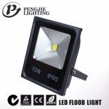 Luz de inundación al aire libre de IP65 10W LED con la certificación del TUV SAA
