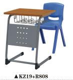 Conjunto de mesa e mesa de escritório de escola de plástico funcional