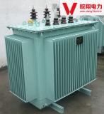 Olie Ondergedompelde Transformator/Transformator In drie stadia/de Transformator van de Distributie