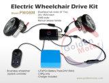 A cadeira de rodas de dobramento nova da potência, Ce de pouco peso Handicapped de dobramento aprovou 8 '' 12 '' 1 segundo cadeira de rodas elétrica de dobramento da potência, cruzador leve de Ez, tido desvantagens