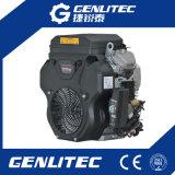 Engine d'essence 20HP jumelle refroidie par air de la rappe V d'Ohv 4