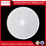 Diffusore rotondo del soffitto del soffitto dei fornitori della Cina del diffusore di alluminio registrabile dell'aria