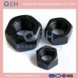 Noix Hex noires d'acier du carbone (Cl. 6 DIN934)
