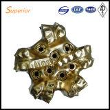 12 trépan à diamants de 1/4 pouce PDC de matériel Drilling de la Chine