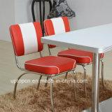 (SP-CT846) Mobilier de restaurant en cuir rouge et blanc des années 1950