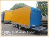 Carro Tuk Tuk del perrito caliente del carro del alimento de Ys-Fb390e para la venta