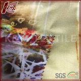 100%の絹のカスタムデジタルによって印刷されるサテンの絹ファブリックパジャマ