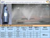 напольный тип сопло тумана фонтана воды в нержавеющей стали