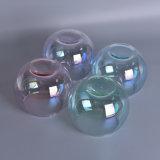 Récipients en verre de bougie d'arrivée de maison de décoration de forme neuve de bille
