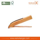 非ロータス木製のゴム製肩のスリップの木製のハンガー