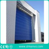 Se Plier de Levage de Tissu de PVC Vers le Haut de la Porte Méga de Chantier Naval