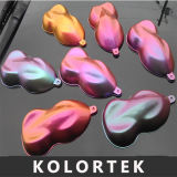 Borosilicat-Chamäleon-Perlen-Pigment-Puder