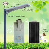 12W imprägniern IP65 integrierten alle in einem Solar-LED-Straßenlaterne