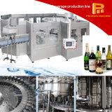 ガラスビン機械のための簡単な操作ビールウォッカのワインの詰物かパッキング