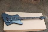 Нот Hanhai/гитара шнуров черноты 4 электрическая басовая с черным оборудованием