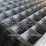 Rete metallica saldata rinforzante concreta costolata d'acciaio