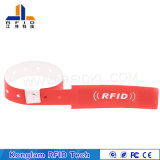 Bracelet de papier synthétique personnalisé d'IDENTIFICATION RF de couleur pour l'identification de bébé