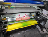 máquina flexográfica del rodillo del papel de imprenta de los colores 1meter 4