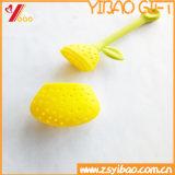 Изготовленный на заказ пакетик чая формы плодоовощ силикона качества еды