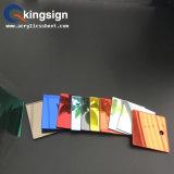 Feuille r3fléchissante élevée d'acrylique de miroir de couleur