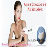 99% Reinheit pharmazeutisches Anastrozoles Arimidex CAS: 120511-73-1 für Brustkrebs