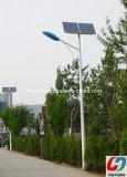 IP65 imperméabilisent le réverbère extérieur solaire de lampe de DEL