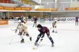 Suelo de interior de la pista de patinaje de rodillo del buen funcionamiento, hockey en línea
