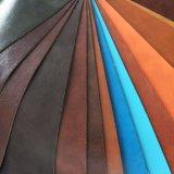 耐久のソファーPU PVC合成物質の革