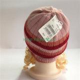 Les sports ont tricoté des chapeaux et des chapeaux de l'hiver de gosses de coutume de chapeau de Benies