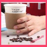 使い捨て可能な習慣によって印刷されるコーヒー紙コップ