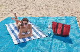 Im Freien Falz-haltbarer Form-Sand-freie Strand-Matten
