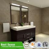 Meubles ouverts de salle de bains d'Étage-Chêne de double classique