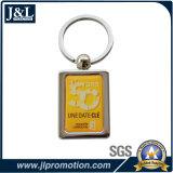 Il metallo in lega di zinco Keychain della pressofusione con il marchio del cliente