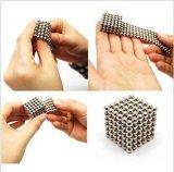 Cubo neo 5mm magnéticos 216 esferas magnéticas do ímã do Neodymium