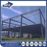 Edificio prefabricado del almacén de la estructura de acero de la viga de la construcción H