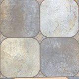 600*600mm hölzerner Blick-rustikale glasig-glänzende Badezimmer-Küche-keramische Fußboden-Fliese