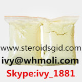Gelbes kristallenes Puder-rohes Steroid Puder CAS 472-61-5 Trenbolone Enanthate