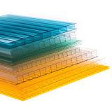 Dix ans de garantie de polycarbonate de PC de jumeau de mur de feuille de cavité