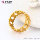 Кольцо перста ювелирных изделий конструкции губы Zircon 13583 способов устно в покрынном золоте 24k