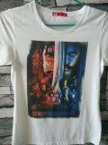 Varia impresora de la camiseta de la venta caliente con 6 colores