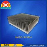 고성능 알루미늄 6063 합금 밀어남 열 싱크