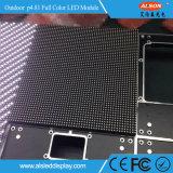 Módulo a todo color al aire libre de la pantalla del alquiler P4.81 LED de HD con nuevo diseño