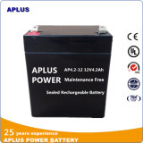 Batería sin necesidad de mantenimiento de la UPS de la operación 12V 4.2ah para los recursos de la alarma